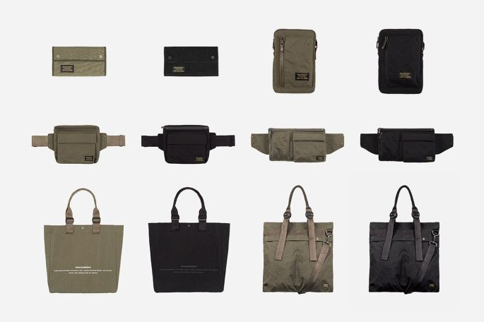 maharishi japanese stand cotton accessories collection